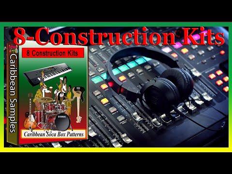 8 Construction Kits Caribbean Soca Grooves Box Patterns