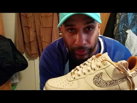 Nike Air Force 1 AF1 'Vachetta' vs 'Khaki' Review & Comparison - By Request