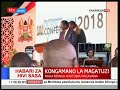 Raila Odinga makes jokes out of the recent dramatic developments at 5th Devolution Conference
