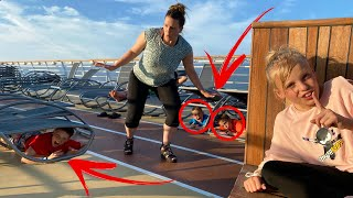 Game of Extreme Hide and Seek on a Cruise Ship!