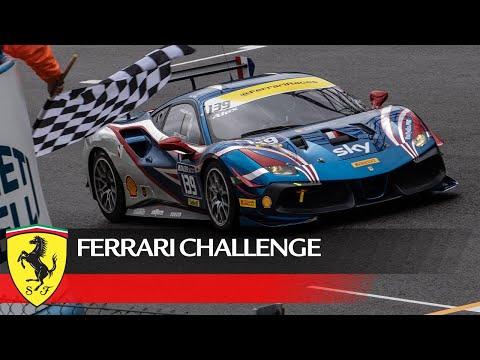 フェラーリチャレンジ2021 モンツァ レース2のフルレース動画