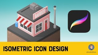 Isometric Drawing In Procreate Tutorial