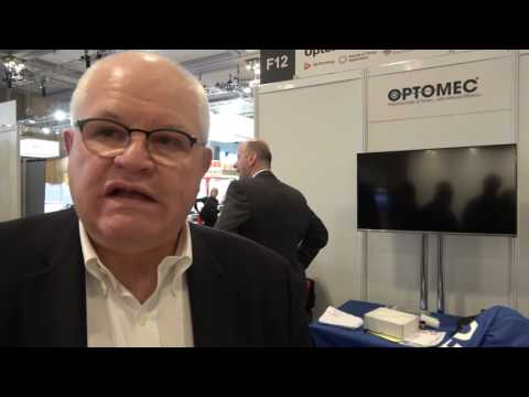 Optomec Shows Their Printed Technology At The IDTechEx Show! In Berlin