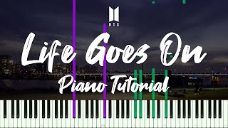 Life Goes On (BTS) 뮤직비디오 버전 튜토리얼