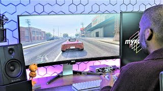 "BenQ EX3501R 35"" Ultrawide HDR Monitor Review 
