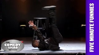 Kevin Hart⎢Watching People Fall is Funny⎢Shaq's Five Minute Funnies⎢Comedy Shaq - dooclip.me