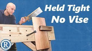 You don't need a vise on the Joiner's Bench
