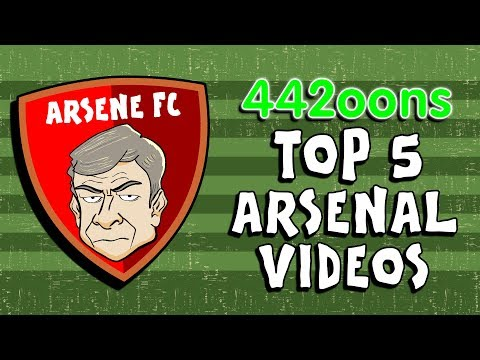 442oons: Top 5️⃣ Arsenal Videos!