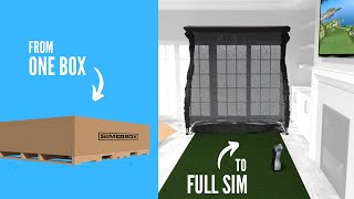 Sim-in-a-Box: Eagle Plus Package Simulator-video