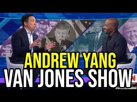 Andrew Yang on The Van Jones Show | Full Interview September 21st 2019