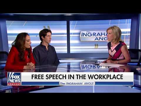 Fired Google employee James Damore's fight for free speech