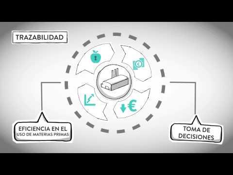 Fotograma del vídeo: Trazabilidad en la Empresa Agroalimentaria