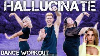 Dua Lipa - Hallucinate | Caleb Marshall | Dance Workout