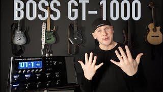 #REVIEW 1 10 gute Gründe für das neue BOSS GT 1000 (Quick Gear Check deutsch)