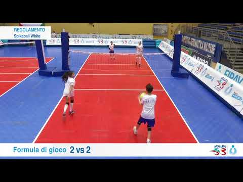 Preview video Volley S3 - Spikeball WHITE - Il Regolamento