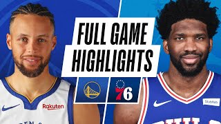 WARRIORS at SIXERS   FULL GAME HIGHLIGHTS   April 19, 2021