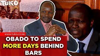 Kenya Breaking News: Obado to Spend More Days Behind Bars | Tuko TV