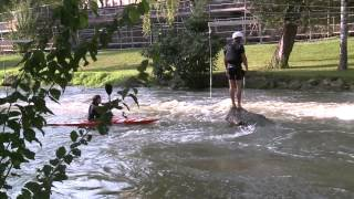 preview picture of video 'kayak club metz'