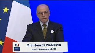 """Rôle déterminant"""" d'Abaaoud dans les attentats de Paris, selon Cazeneuve"""