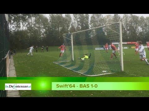 VIDEO | Swift'64 is met mazzelgoaltje de gelukkigste in boeiende derby tegen BAS