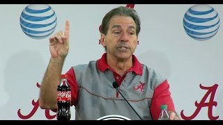Nick Saban's rant on Alabama-Georgia Southern game in 2011