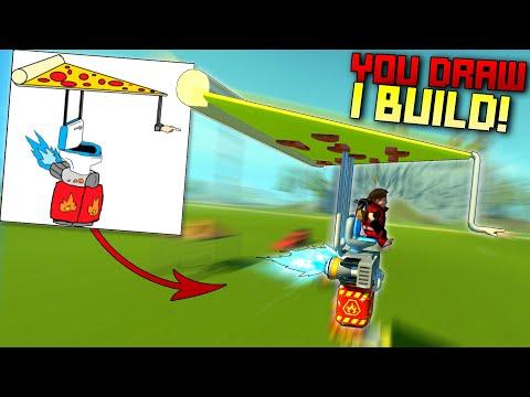 You Draw It, I Build It! [YDIB 5] - Scrap Mechanic Gameplay