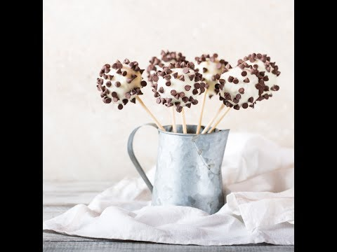 Cookie Flower Pops