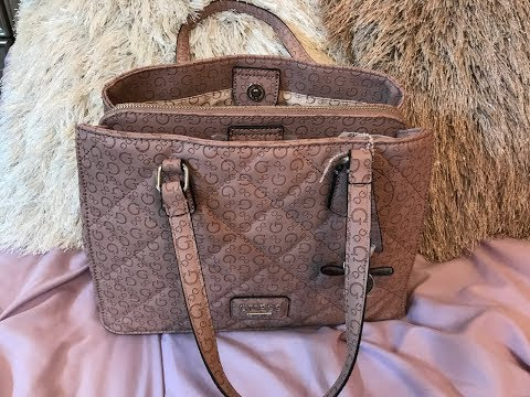 Review of the Guess Dusty Mauve Globes Purse