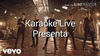CNCO–Quisiera/Karaoke Live