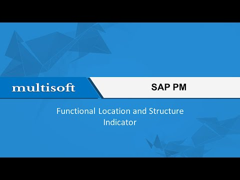 Functional Location and Structure Indicator SAP PM Training