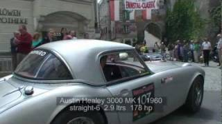 preview picture of video 'Fine Sports Cars (1924 - 1972) @ Steyr / Ennstal Classic 2011'
