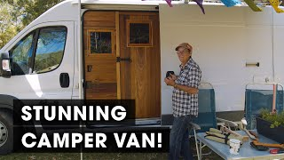You Wont Believe What's Inside This Incredible Camper Van! (Home on the Road #2)