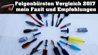 Auto Felgenbürsten Vergleich - mein Fazit und Empfehlungen Gyeon Microfiber madness EZ Detail