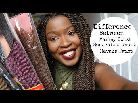 Marley Twist, Senegalese Twist, & Havana Twist?