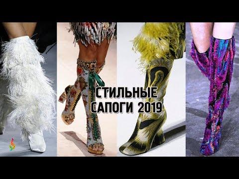 Модные сапоги осень-зима 2019 фото 💎 Зимняя женская обувь 2019