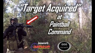 """Enemy Spotted."" Intense Airsoft Defense at Paintball Command!"