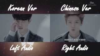 EXO - Miracles in December (Korean Chinese MV Comparison)