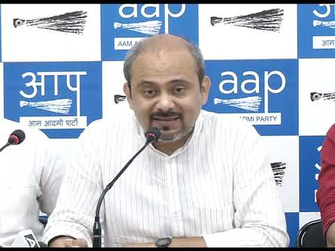 AAP Press Brief on South MCD Parking Issue