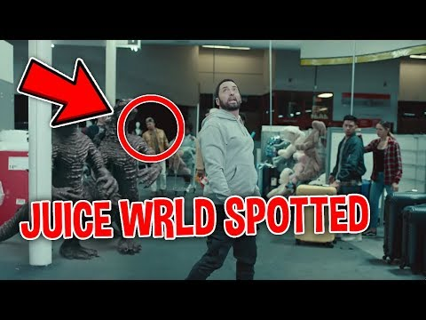 Secrets You Missed Eminem - Godzilla ft. Juice WRLD (OFFICIAL VIDEO)