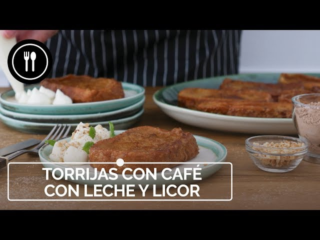 TORRIJAS DE CAFÉ CON LECHE Y LICOR DE CHOCOLATE, fáciles, jugosas y deliciosas | Directo al Paladar