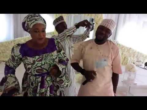 Sabuwar Rawar mal Ibrahim sharukan a gurin biki