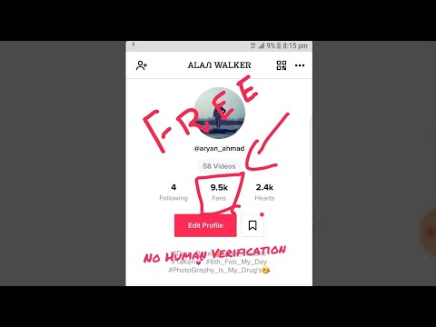 NO Human Verification - How To Get Unlimited Followers On TikTok