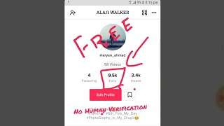 how to get free tiktok fans without human verification - Hài Trấn