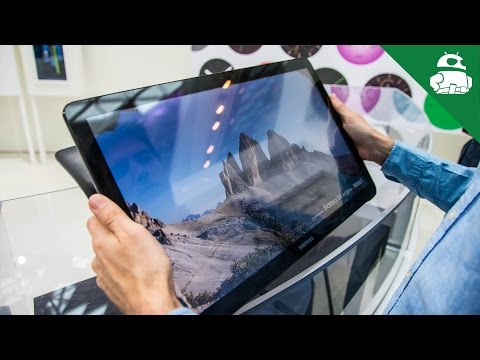 Samsung Galaxy View hands on