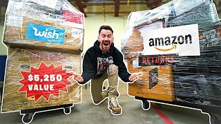 I Paid $900 for $5,256 Worth of MYSTERY TECH!! Amazon Returns Pallet Unboxing!
