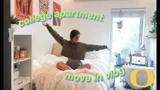 College Apartment Move In Vlog!! (University of Oregon) | Sara