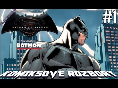 Batman v Superman Prequel Batman - Chapter 1 | Komiksové ROZBORY | FloTin