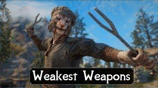 Skyrim: Top 5 Weakest Weapons You May Have Missed in The Elder Scrolls 5: Skyrim