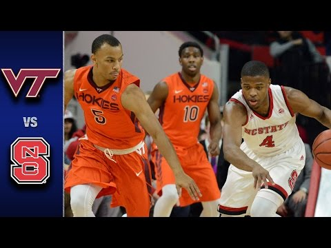 Virginia Tech vs. NC State Men's Basketball Highlights (2016-17)