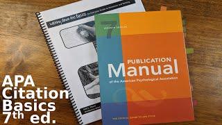 APA Citation Basics 7th ed.
